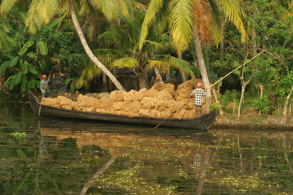 Coir, Kerala, India